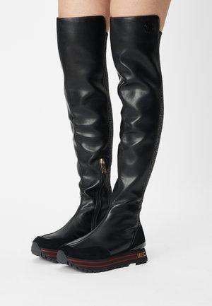 MAXI - Overknee laarzen - black