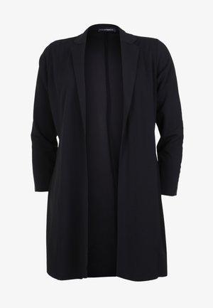 MIT GLITZERDETAILS - Short coat - schwarz