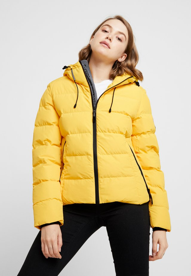 SPIRIT PUFFER ICON  - Kurtka zimowa - bright yellow