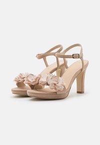 Anna Field - LEATHER - Sandály na vysokém podpatku - beige - 2