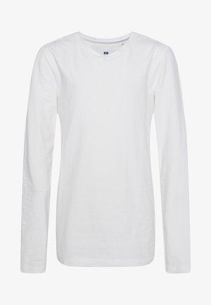 REGULAR FIT - Langarmshirt - white