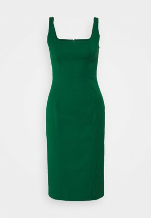 NECK SHEATH SOLID - Day dress - luscious green