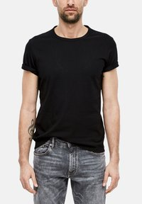 s.Oliver - Basic T-shirt - black - 3