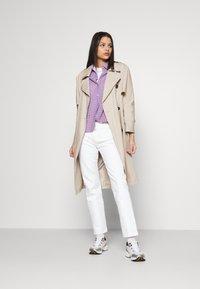 Levi's® - 501 CROP - Slim fit jeans - come clean - 1