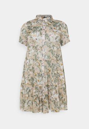 MOLLIE DRESS - Shirt dress - beige