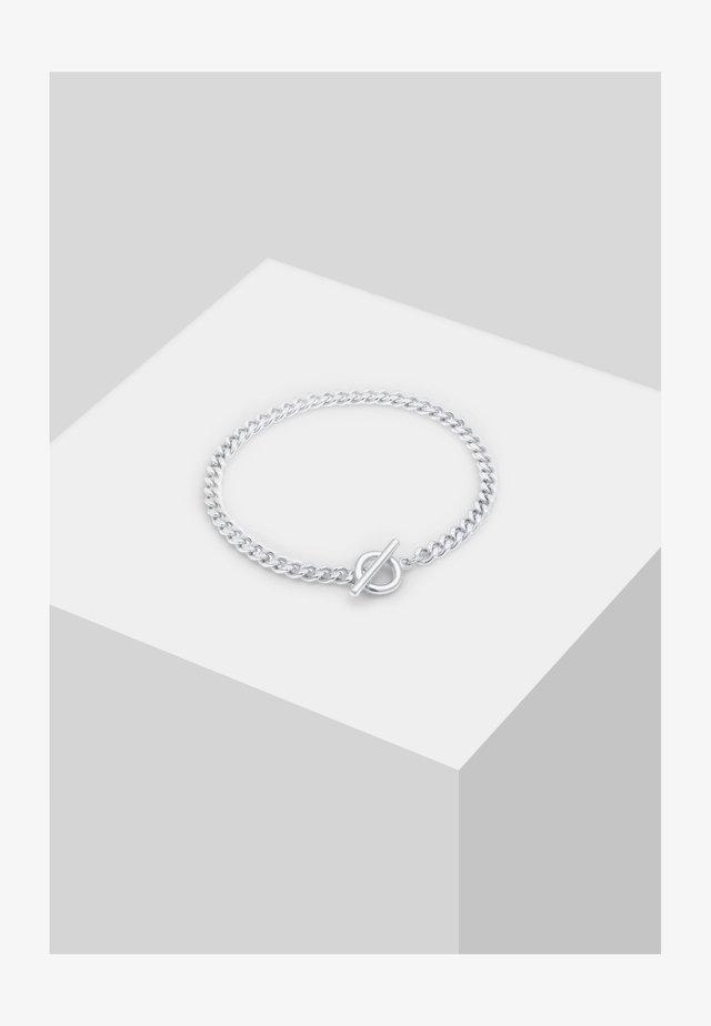 GEDREHT - Bracelet - silber