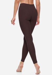 Bellivalini - Leggings - Trousers - brown - 1