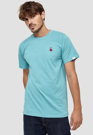 HERZ - T-shirt basic - aqua