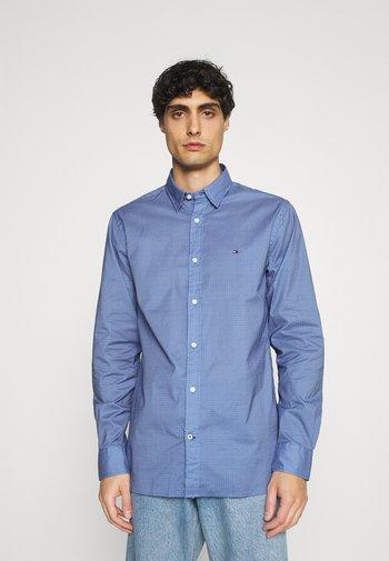 FLEX GEO FLORAL PRINT REGULAR FIT - Shirt - copenhagen blue/white/ yale navy