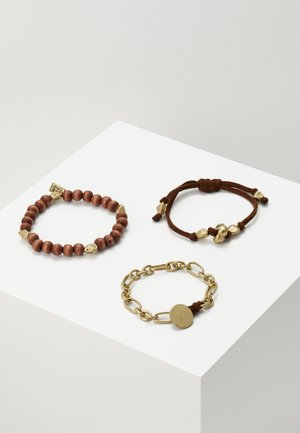 MOON ROCK WRISTWEAR 3 PACK - Bracelet - gold-coloured