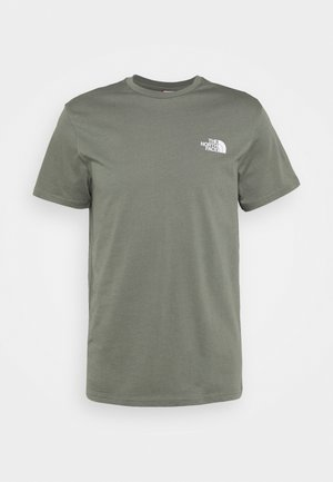 MENS SIMPLE DOME TEE - Print T-shirt - agave green