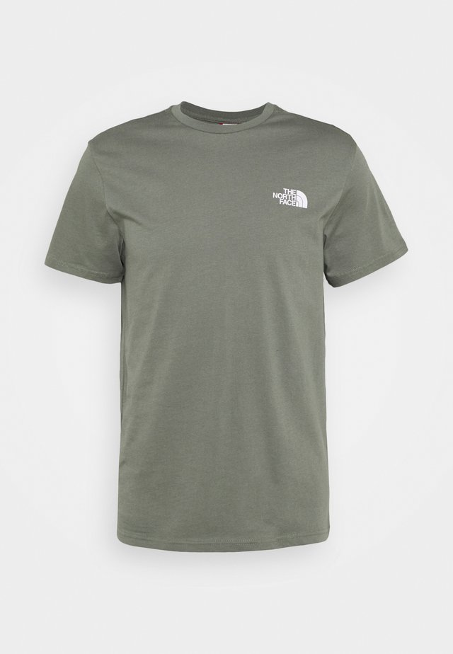 MENS SIMPLE DOME TEE - T-shirt basique - agave green