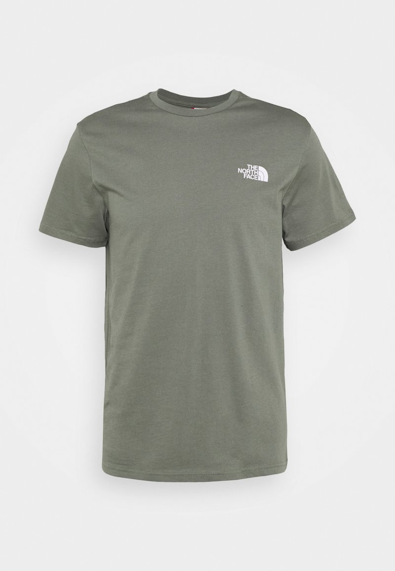 The North Face - SIMPLE DOME TEE - T-shirt - bas - agave green