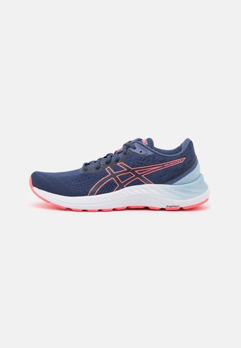 GEL EXCITE 8 - Neutral running shoes - thunder blue/blazing coral