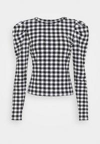 Guess - HADIL - Bluzka z długim rękawem - black/white - 0