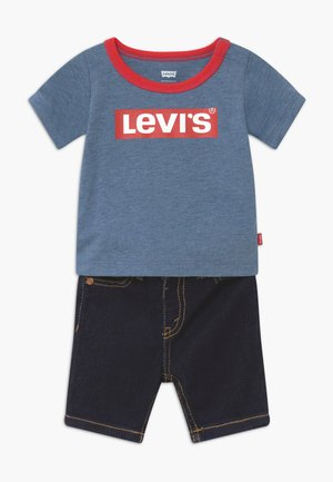STRETCH SET - Jeans Shorts - navy heather