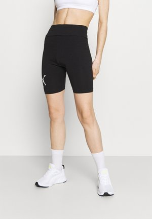 LOGO SHORT  - Tights - puma black