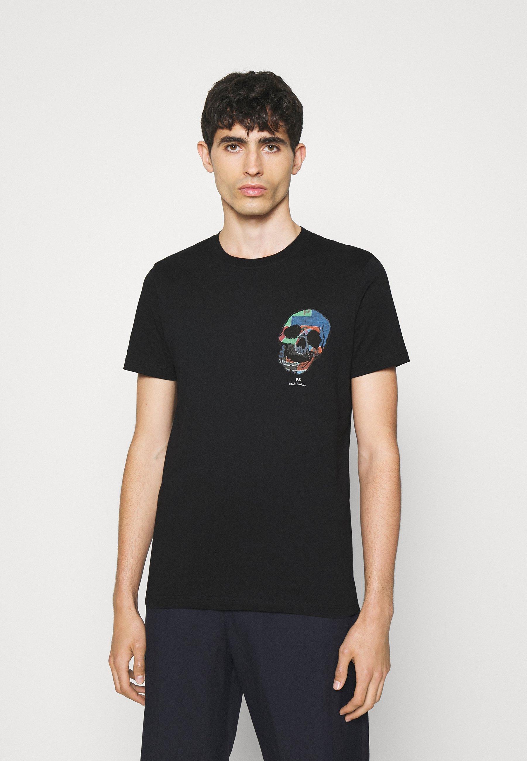 Men SLIM FIT TSHIRT SKULL - Print T-shirt