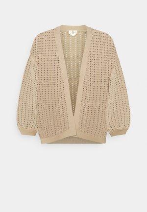 TONEILLE CARDIGAN - Cardigan - beige
