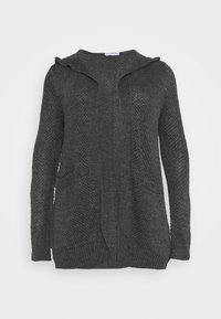 Anna Field Curvy - Cardigan - mottled dark grey - 4