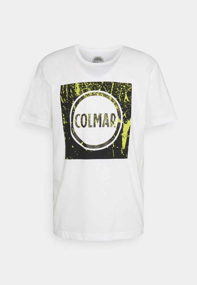 MENS SOLID COLOR - T-shirt print - white