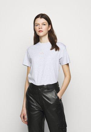 SUZANA TEE - Print T-shirt - grey melange