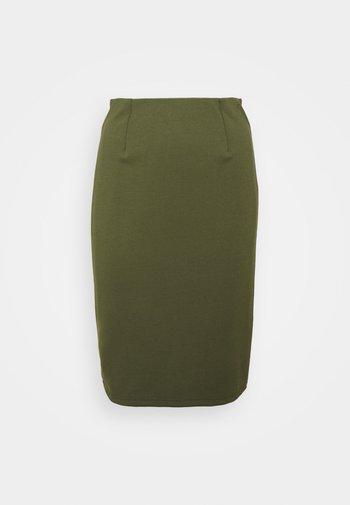 Pencil skirt - khaki