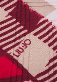 LIU JO - FOULARD COLOR BLOCK - Pañuelo - true red - 2