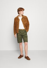 AllSaints - ADAIRE JACKET - Leather jacket - tan - 1
