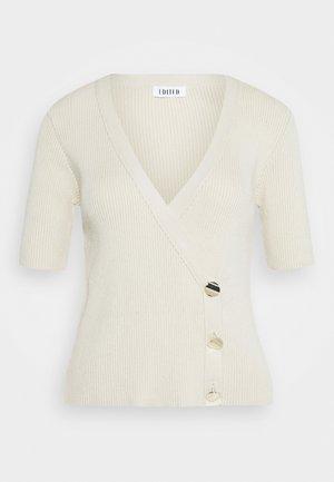 GIULIA - Print T-shirt - beige