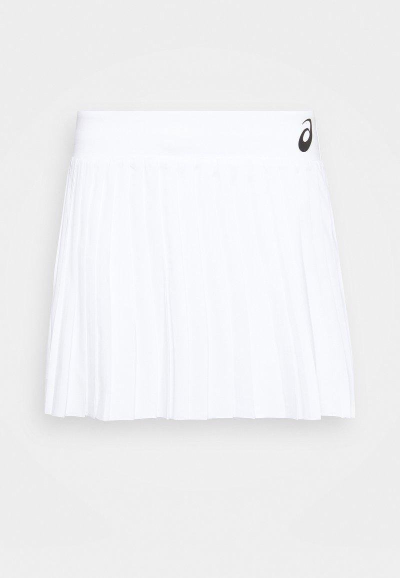 ASICS - MATCH PLEATS SKORT - Sports skirt - brilliant white