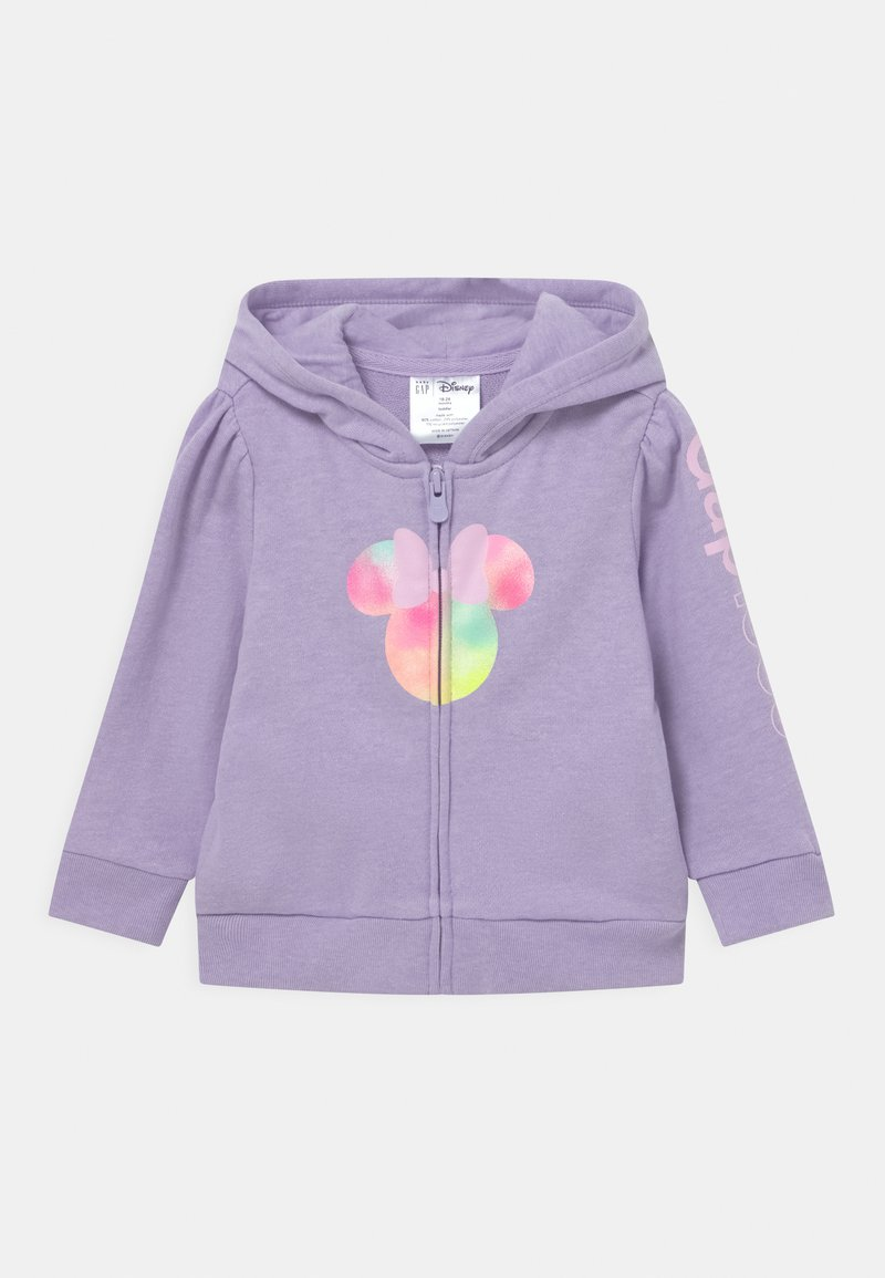 GAP - TODDLER GIRL MINNIE MOUSE - Hoodie met rits - lilac