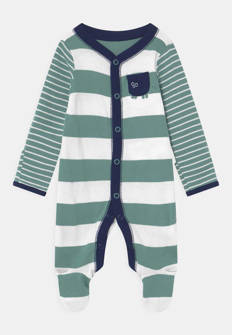 Carter's - STRIPE - Sleep suit - green
