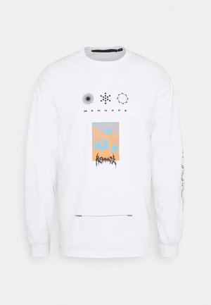 UNISEX SYMBOL - Long sleeved top - white
