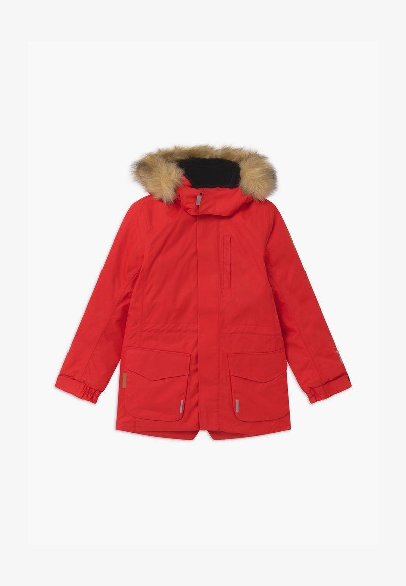 Reima - NAAPURI UNISEX  - Winter coat - tomato red