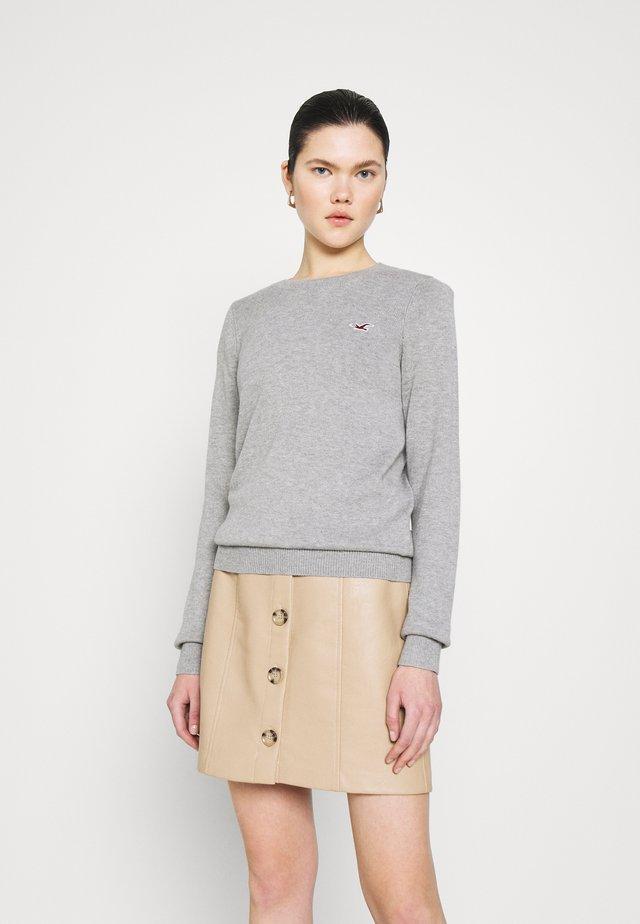 ICON CREW - Sweter - grey