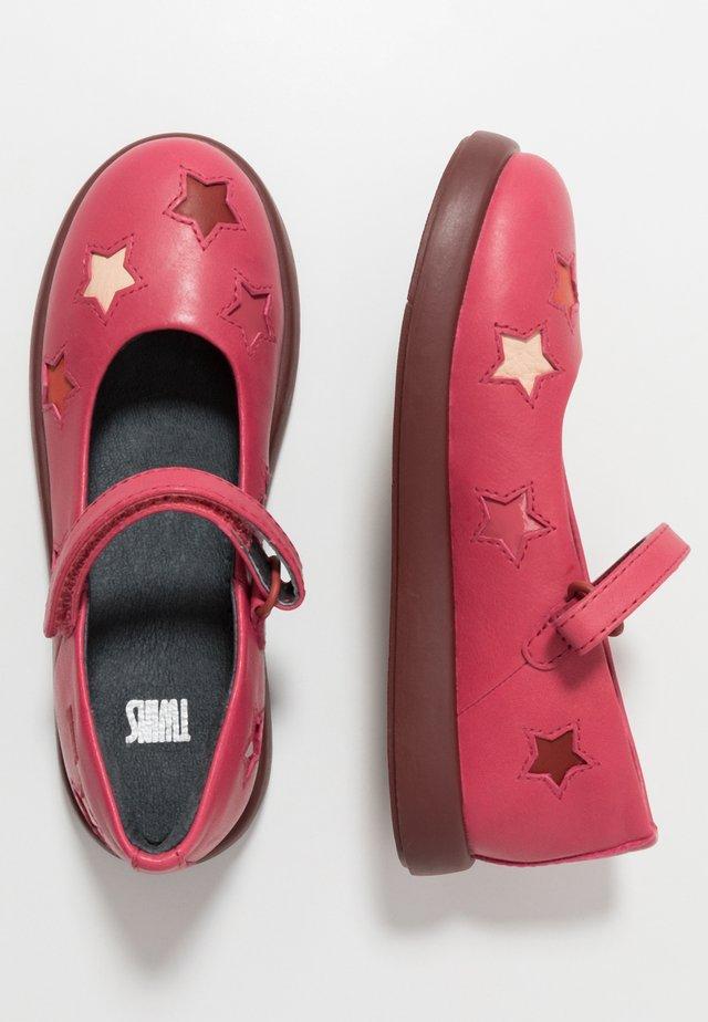 KIDS - Ballerinat nilkkaremmillä - pink