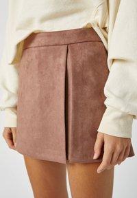 PULL&BEAR - A-line skirt - rose gold - 4