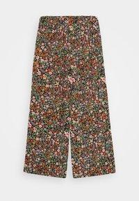 Name it - NKFVINAYA WIDE PANT - Trousers - vibrant orange - 1