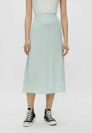 A-line skirt - blue fog