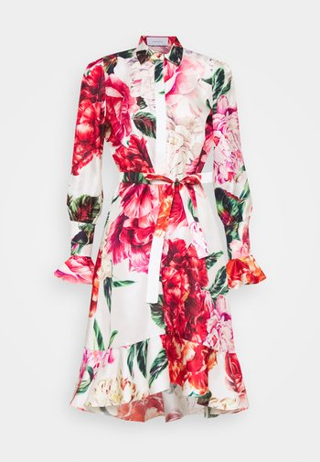 Shirt dress - multicoloured