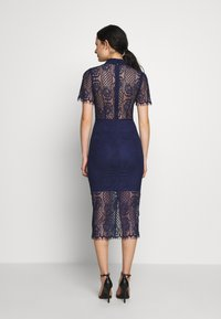 Mossman - MAKING THE CONNECTION DRESS - Cocktail dress / Party dress - navy - 2