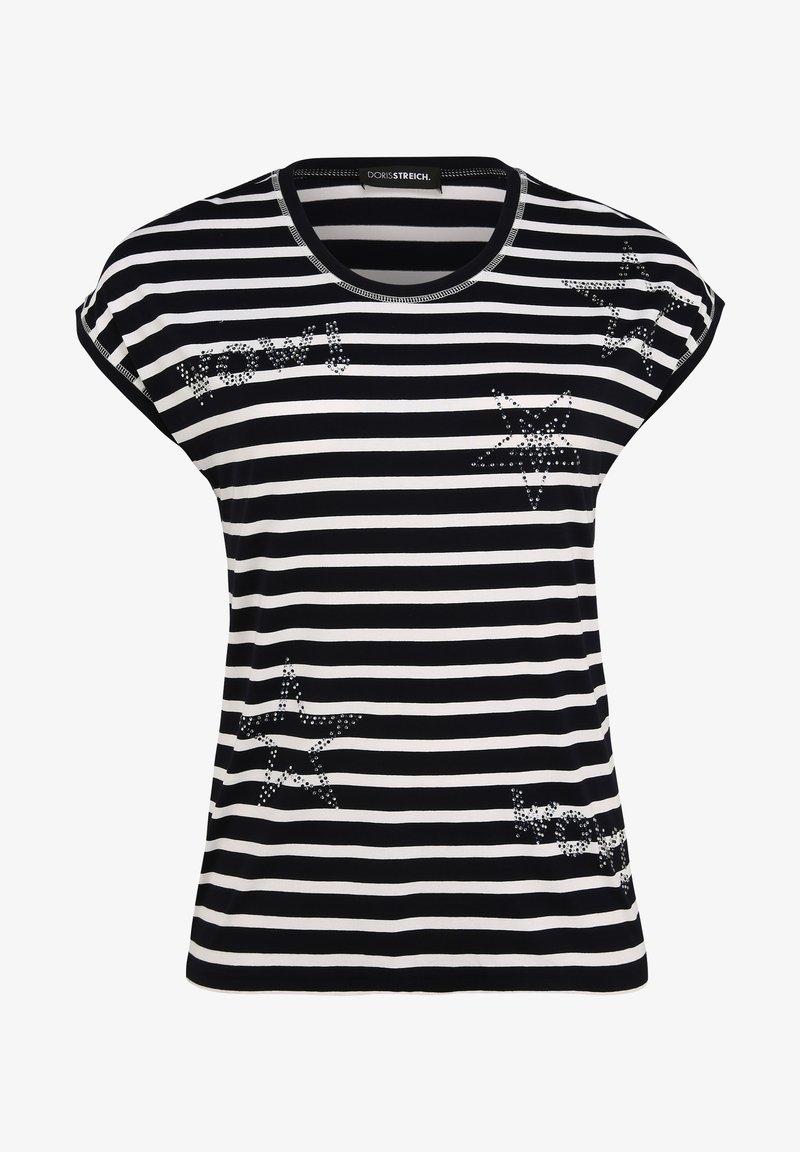 DORIS STREICH - Print T-shirt - marine