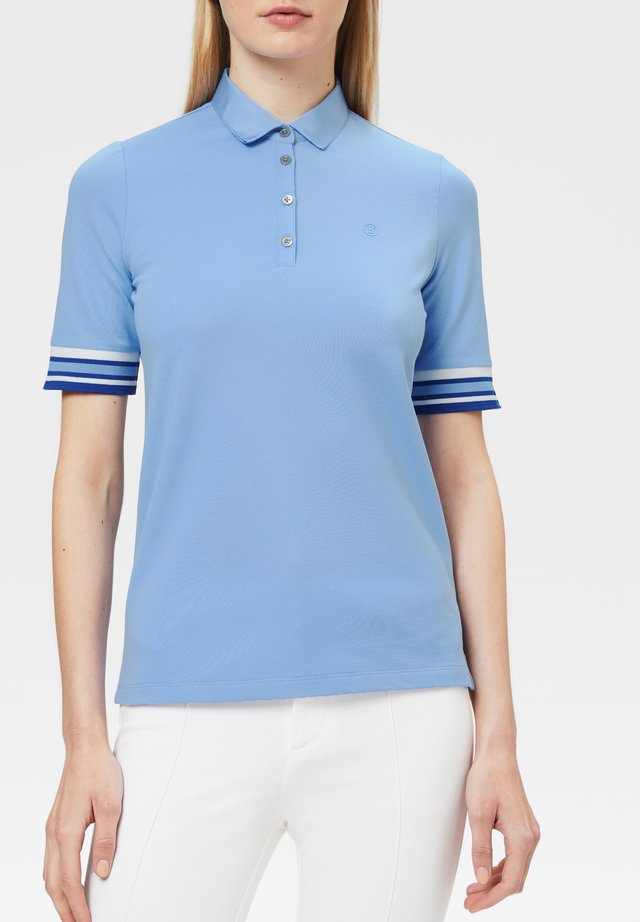 VIVIENNE - Polo shirt - hellblau