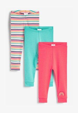 3 PACK  - Leggings - multi-coloured