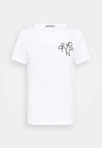 ANISIA - T-shirt print - weiss