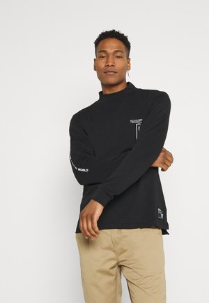 RRHARTLEY HIGH NECK - Longsleeve - black
