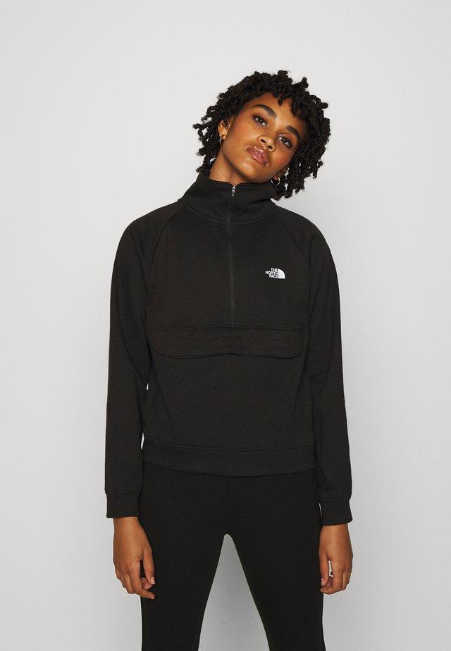EXPLORE CITY SUPIMA ZIP  - Sweatshirt - black