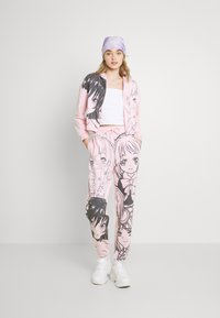 NEW girl ORDER - MANGA GIRLS ZIP HOODIE - Zip-up sweatshirt - pink - 1