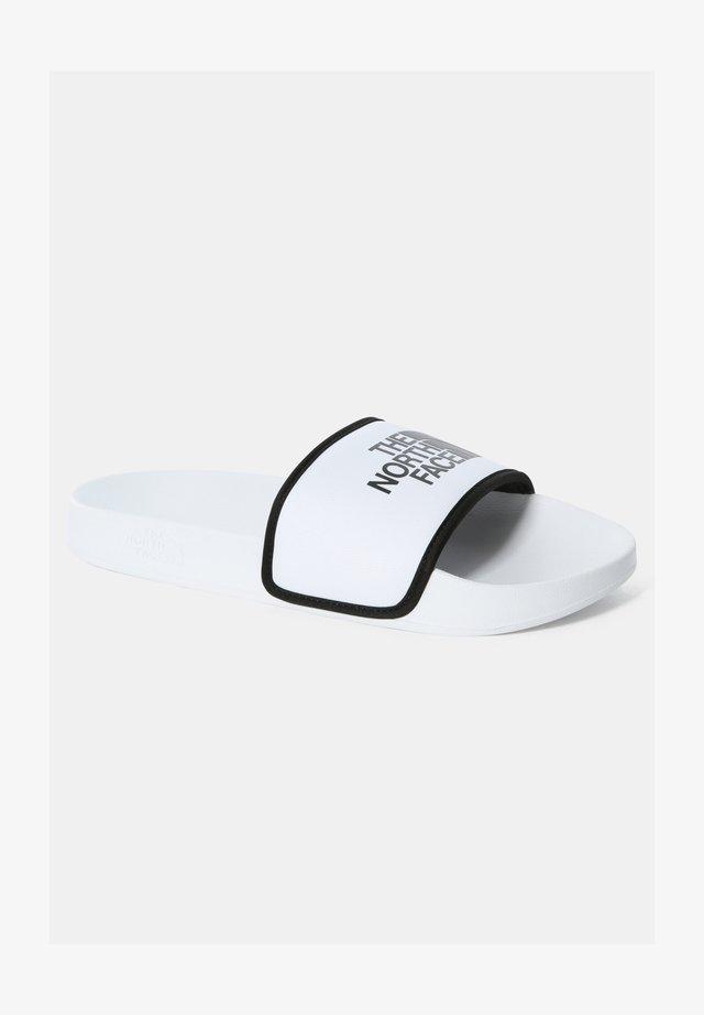 BASE CAMP  - Sandales de bain - tnf white/tnf black